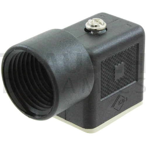 MINI-DIN CONNECTOR, DIN 43650 B, 1/2