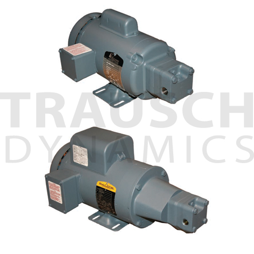 Pump motor units trausch dynamics for Hydraulic pump motor units
