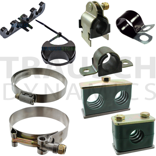 Clamps, Channel, Cushion, Looms, Spacers, T-Bolt, Worm, Weld Clamps, Tubing Clamps, and more!