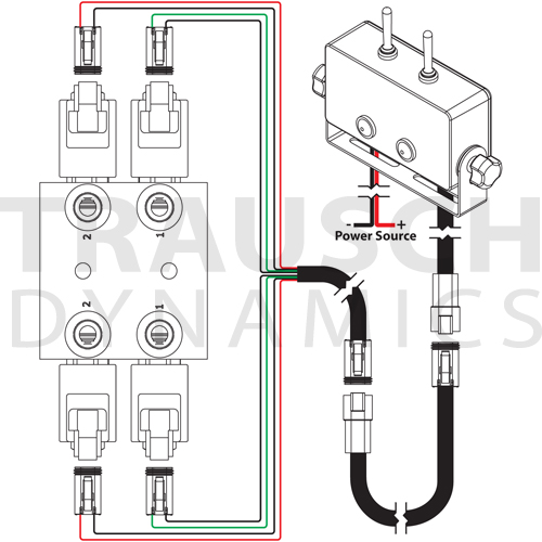 POPPETPLUS 15 GPM POPPET SELECTOR VALVE KIT