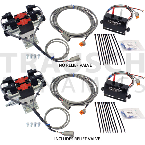 D03 12 GPM 12 VDC ELECTRIC DIRECTIONAL VALVE W/ CO...