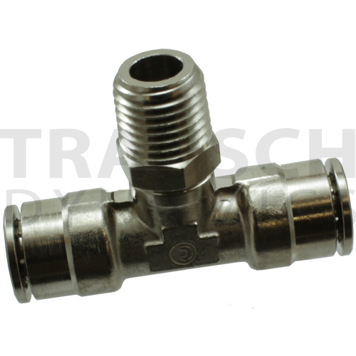 1172 - TUBE X TUBE X MALE PIPE BRANCH TEE SWIVEL