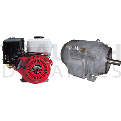ELECTRIC MOTORS & GAS ENGINES