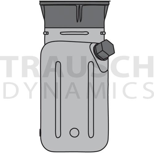 TANK - PLASTIC, VERTICAL 5