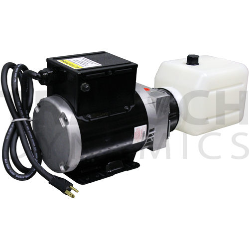 MTE INTERMITTENT DUTY HORIZONTAL AC POWER UNIT