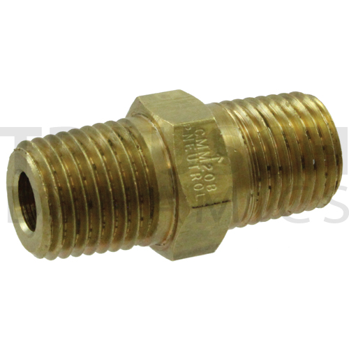 BRASS METAL-TO-METAL SEAT MALE THREADS