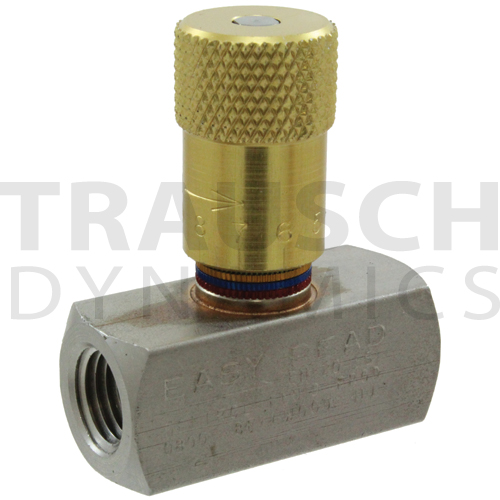 INLINE NEEDLE VALVES STAINLESS STEEL 'EASY READ'