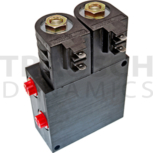 SOLENOID OPERATED DIRECTIONAL CONTROL VALVES