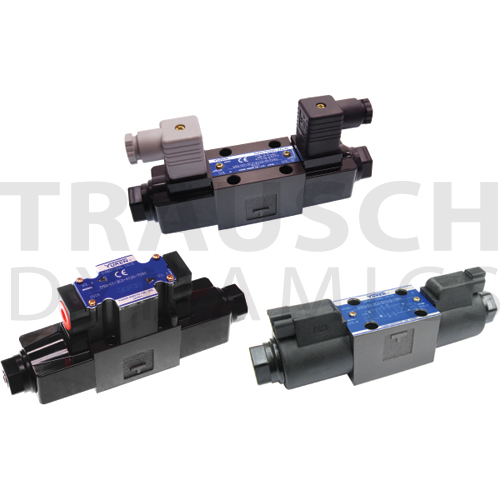 D03 SOLENOID OPERATED DIRECTIONAL CONTROL VALVES