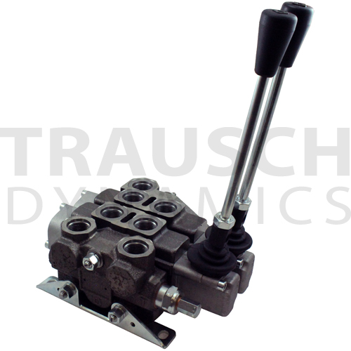 BUCHER - 17 GPM MANUAL LOAD SENSE DIRECTIONAL CONTROL STACK VALVES