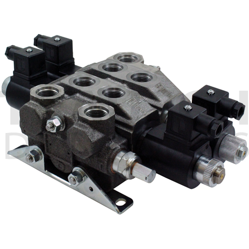 BUCHER - 16 GPM ELECTRIC LOAD SENSE DIRECTIONAL CONTROL STACK VALVES