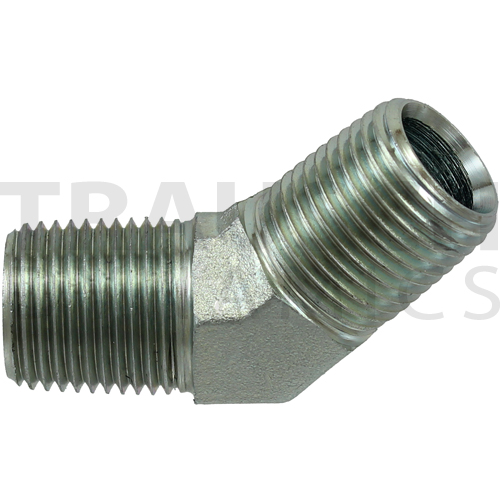 5501 ADAPTERS - MALE 45 DEGREE ELBOW
