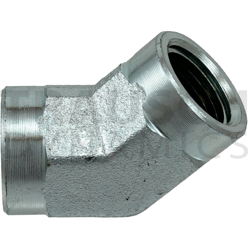 5505 ADAPTERS - FEMALE 45 DEGREE ELBOW