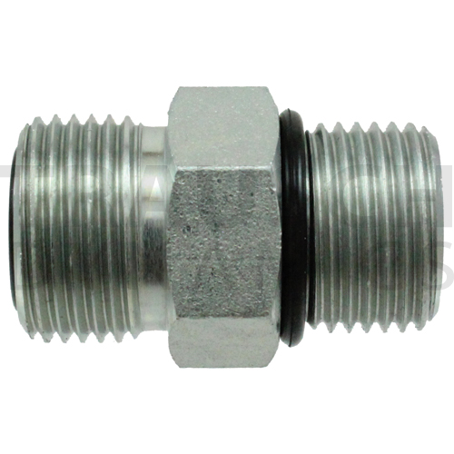 FS6400 ADAPTER - MALE FACE SEAL X MALE SAE ORB