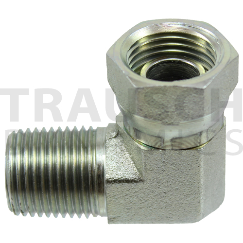 1501 ADAPTERS - MALE SWIVEL WITH ORIFICE 90 DEGREE...