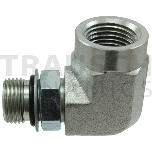 6805 ADAPTERS - MALE SAE ORB X FEMALE PIPE 90 DEGR...