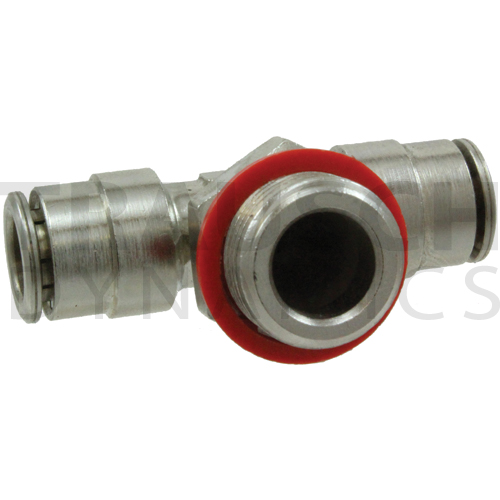 1172MS - TUBE X TUBE X MALE BSPP BRANCH TEE SWIVEL