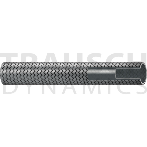 100R14 HYDRAULIC HOSE, STAINLESS STEEL BRAIDED