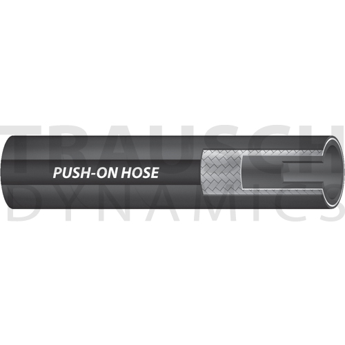 PUSH-ON MULTI-PURPOSE HOSE (BLACK)