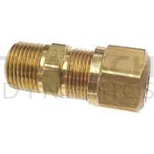 1468X6 CONNECTOR BRASS AIR BRAKE FOR NYLON TUBING MALE