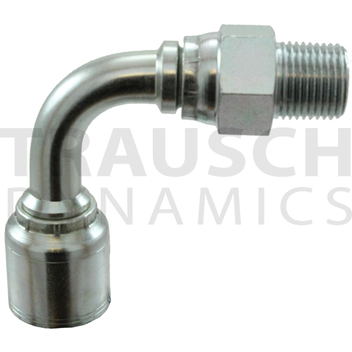A SERIES, MALE PIPE SWIVEL 90