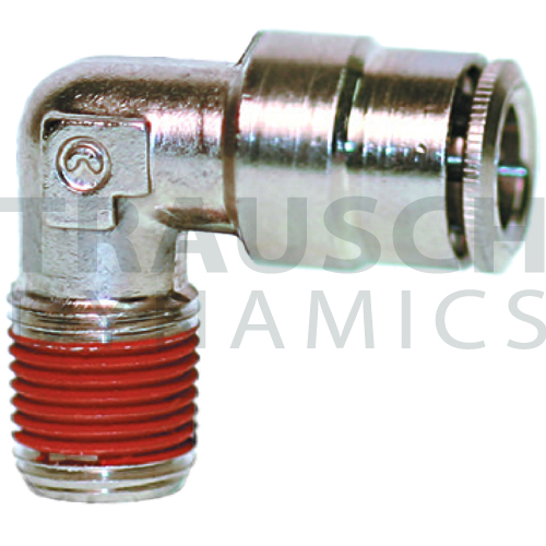 COATED MALE ELBOW NON-SWIVEL