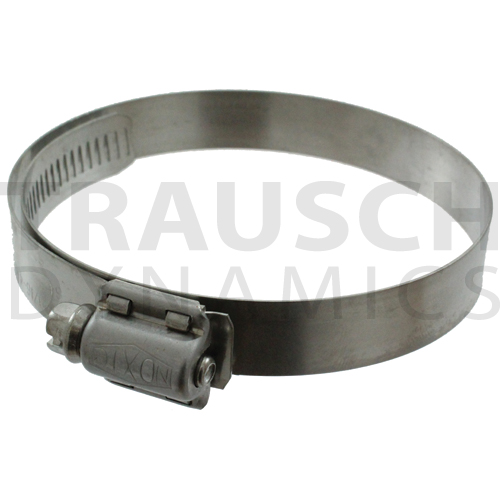 WORM GEAR CLAMPS - FULL STAINLESS STEEL