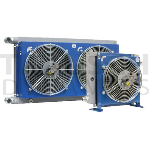 HYDRAULIC DUAL FAN DRIVEN SERIES - WITH BYPASS VAL...