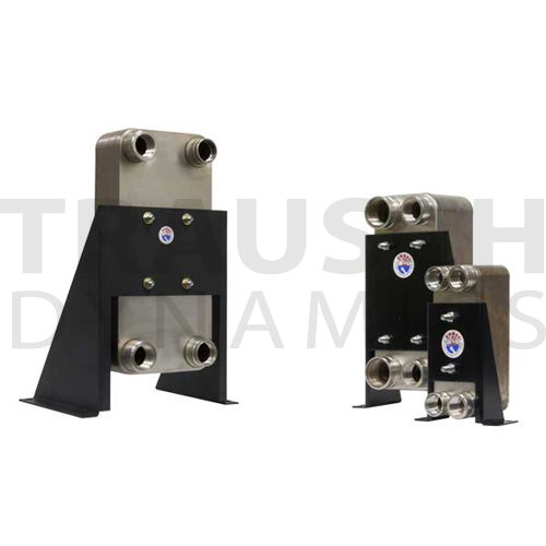 BRAZED PLATE SERIES - WITH MOUNTING BRACKET
