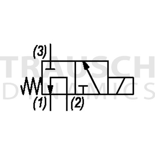 3W2P SELECTOR FLOW 2>1 - 2>3