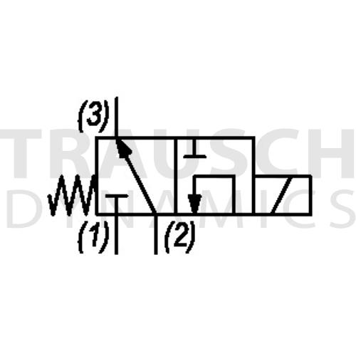 3W2P SELECTOR FLOW 2>3 - 2>1