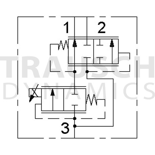 3W FLOW CONTROL - PRESSURE COMPENSATED - NORMALLY ...