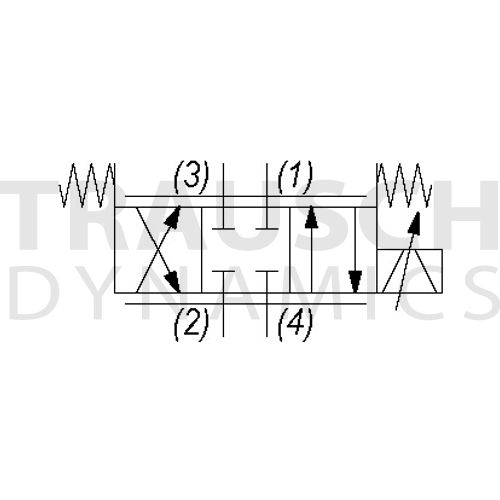 4W DIRECTIONAL - CLOSED CENTER