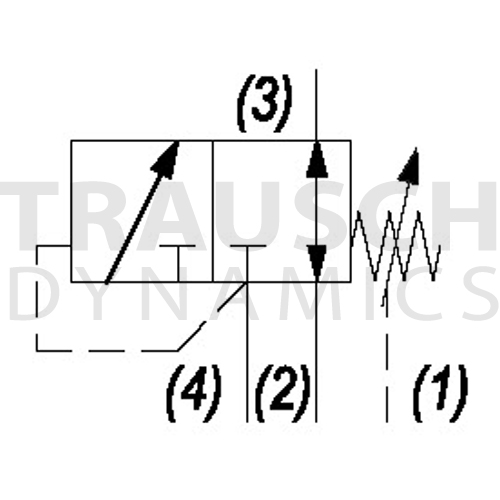SEQUENCE - 3W INTERNAL PILOT & EXTERNAL DRAIN