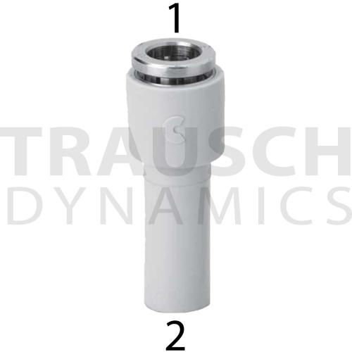 PLUG-IN REDUCER METRIC TUBE