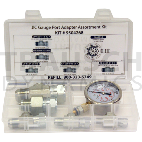 GAUGE PORT ADAPTER KITS