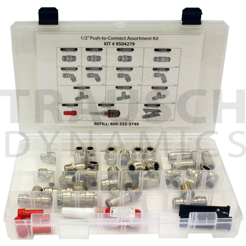 PUSH-TO-CONNECT ASSORTMENT KITS