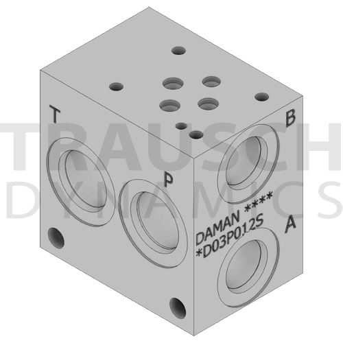 D03 MANIFOLDS, SUBPLATES, COVER PLATES