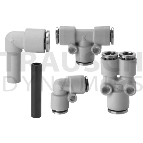 COMPOSITE PUSH-IN FITTINGS, INCH TUBE