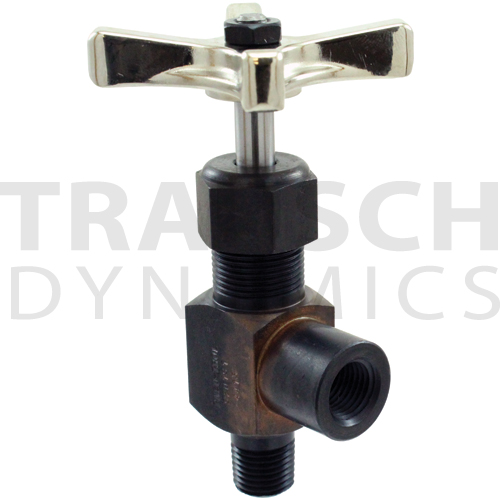 INLINE NEEDLE VALVES STEEL 10,000 PSI - MALE X FEM...