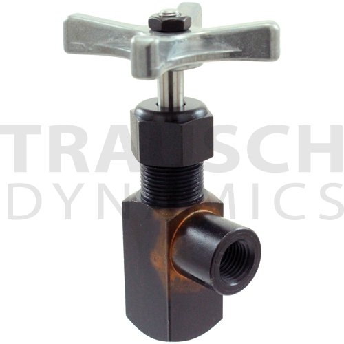 INLINE NEEDLE VALVES STEEL 10,000 PSI - FEMALE X F...