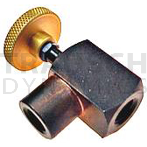 INLINE NEEDLE VALVES STEEL FEMALE X FEMALE 90