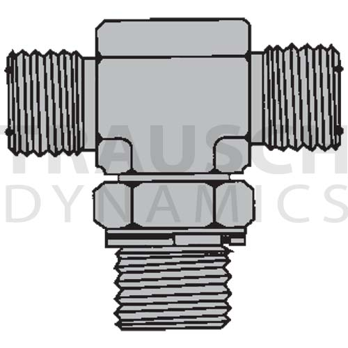 6159 ADAPTERS - MALE O-RING FACE SEAL X ADJUSTABLE...