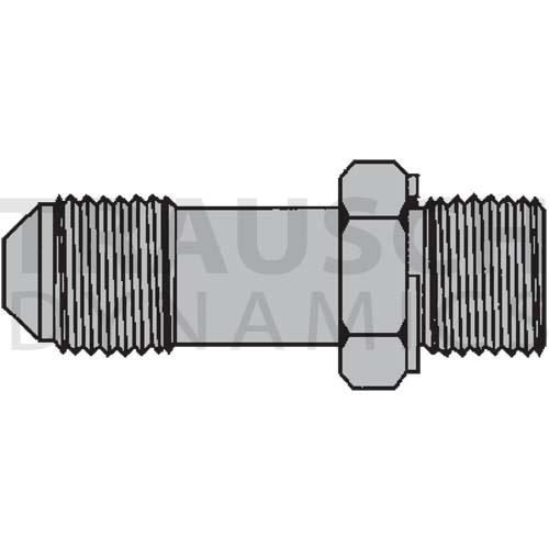 9002L ADAPTERS - MALE JIC X MALE BSP OR/RR LONG