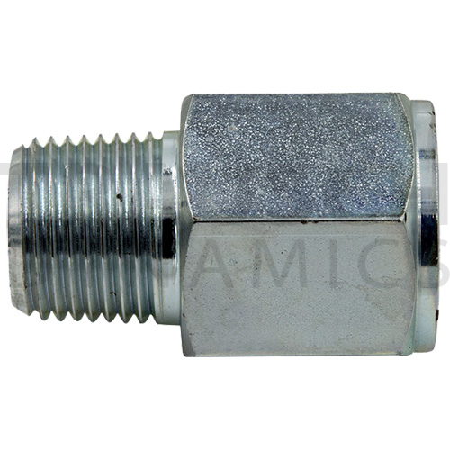 9037 ADAPTERS - MALE PIPE X FIXED FEMALE BSPP