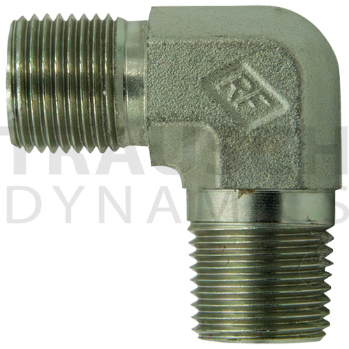 9070 ADAPTERS - MALE BSPP X MALE PIPE 90 DEGREE EL...