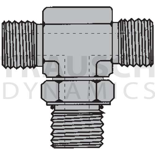 9079 ADAPTERS - MALE BSPP X MALE O-RING BOSS BRANC...