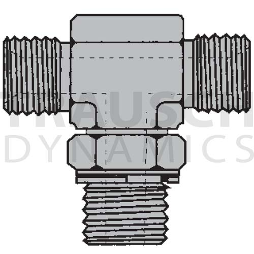9152 ADAPTERS - ADJUSTABLE MALE BSPP BRANCH TEE