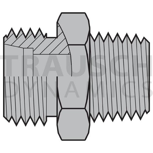 5068LLT ADAPTERS - DIN X MALE METRIC TAPER