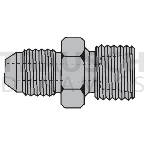 9605 ADAPTERS - MALE JIC X MALE DIN